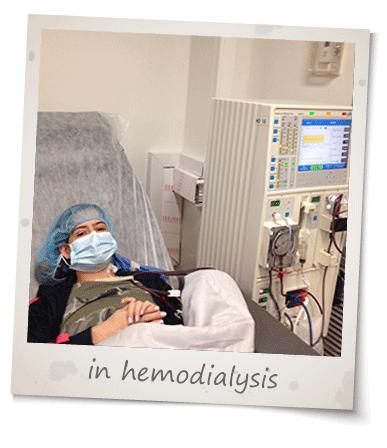 In hemodyalisis